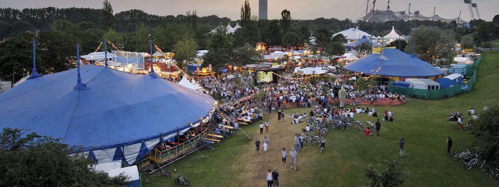 Tollwood-Festival im Sommer, Foto: Markus Dlouhy