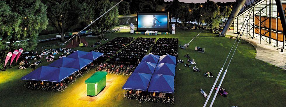 Kino am Olympiasee: Übersicht Kinozuschauer, Foto: Kino am Olympiasee