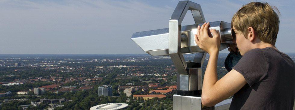 Aussicht vom Olympiaturm, Foto: Katy Spichal