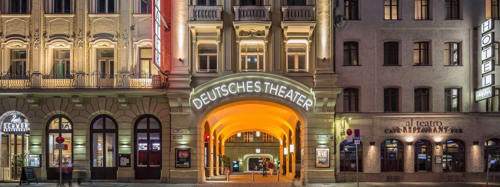 Das Deutsche Theater in München, Foto: Robert Goetzfried