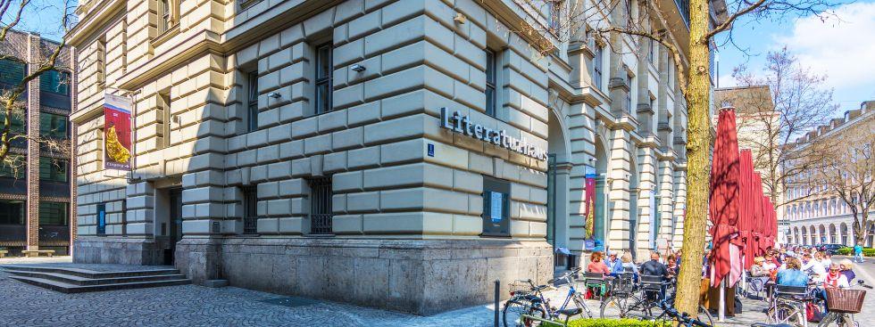 Das Literaturhaus München im Frühling, Foto: muenchen.de/Michael Hofmann