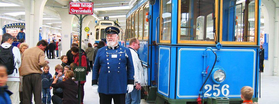 Trams im MVG Museum, Foto: MVG, Wolfgang Grolms