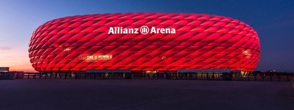 Die Allianz Arena des FC Bayern München, Foto: muenchen.de/Michael Hofmann