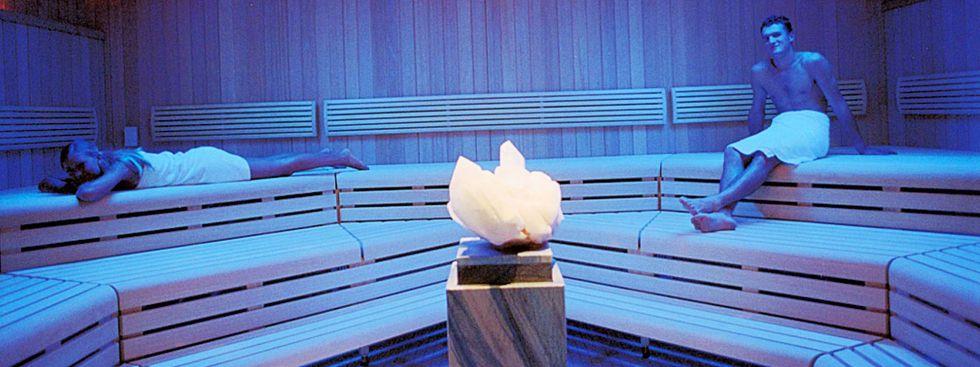 Kristall-Sauna im Dantebad, Foto: SWM / Kerstin Groh