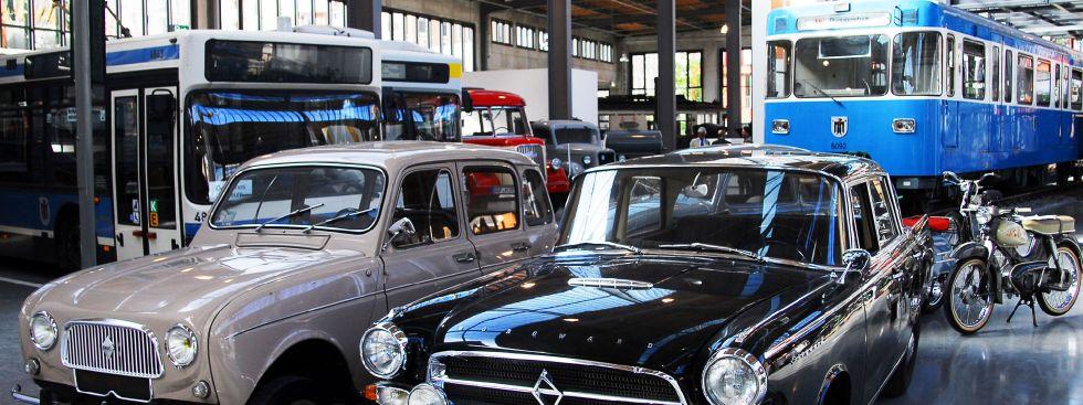 Halle im Verkehrszentrum des Deutschen Museums, Foto: Deutsches Museum