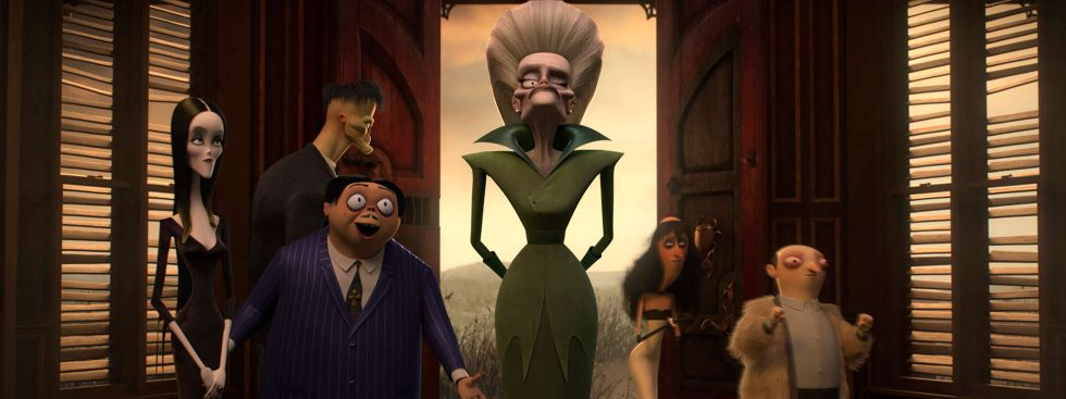 "Szene aus dem Film ""The Addams Family"", Foto: Universal Pictures"