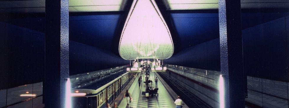 U-Bahnhof Hasenbergl, Foto: Kerstin Groh