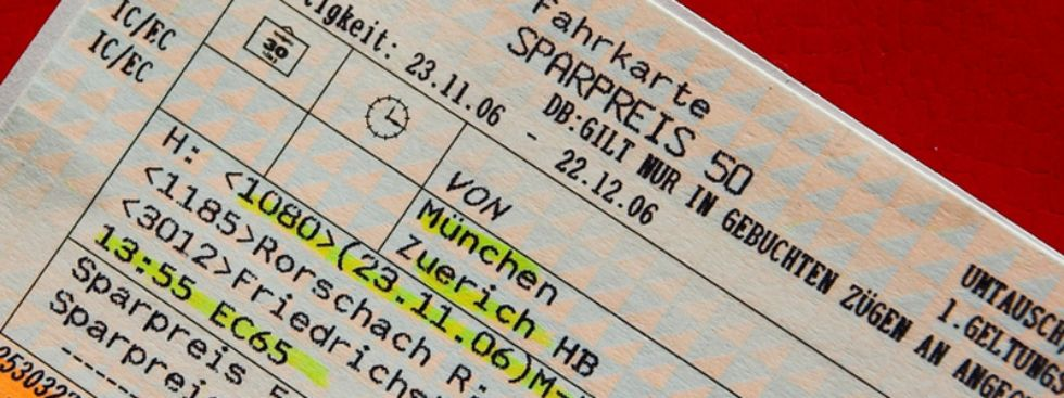 munich train tickets