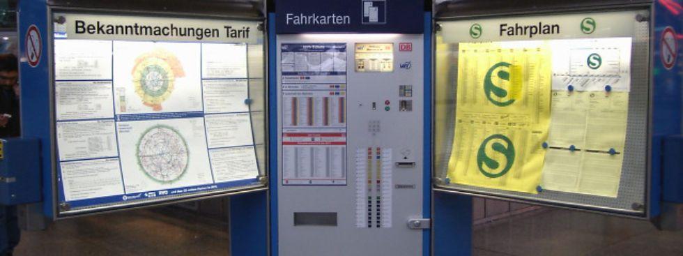 Tarifpläne Im öpnv München Zonen Und Ringe Das Offizielle