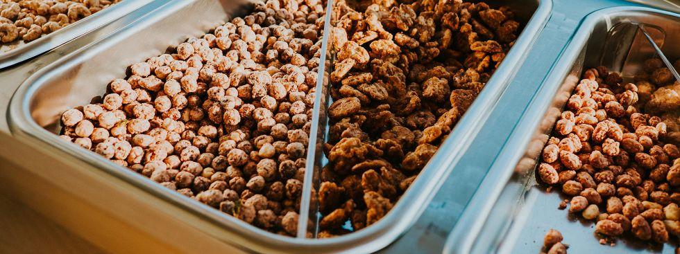 Gebrannte Mandeln und Nüsse vom Mandelhans, Foto: Anette Göttlicher