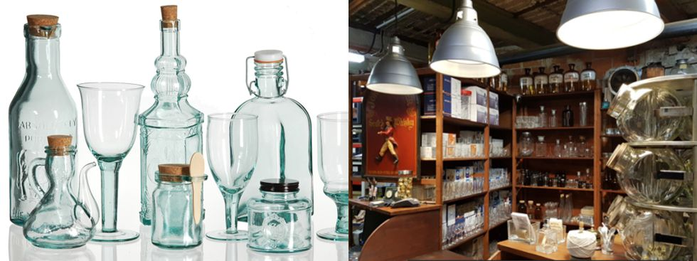 Bottles & Glashaus, Foto: Bottles & Glashaus