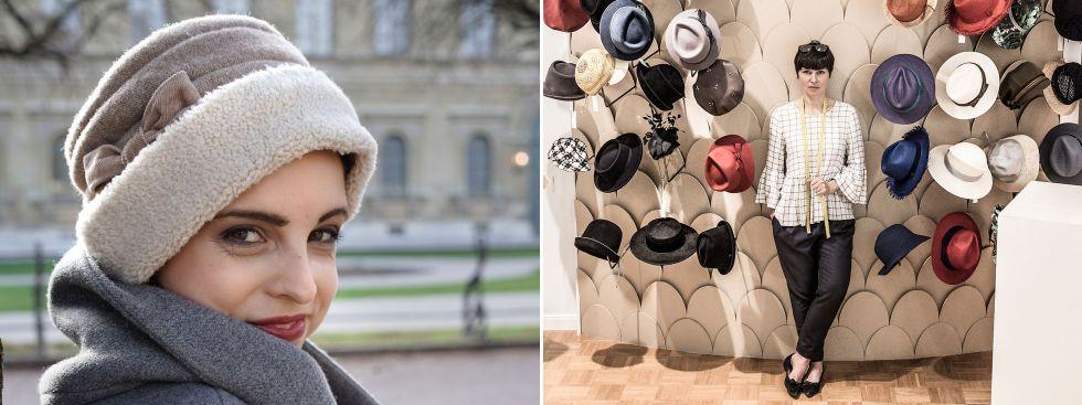 Hüte von Christine Halbig, Foto: Christine Halbig, Goran Gajanin