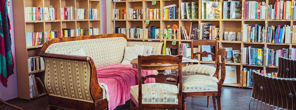 Ladencafés: Buch & Bohne, Foto: Anette Göttlicher