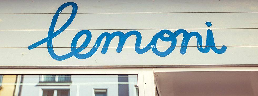 Der Lemoni-Shop in der Barer Straße, Foto: Anette Göttlicher