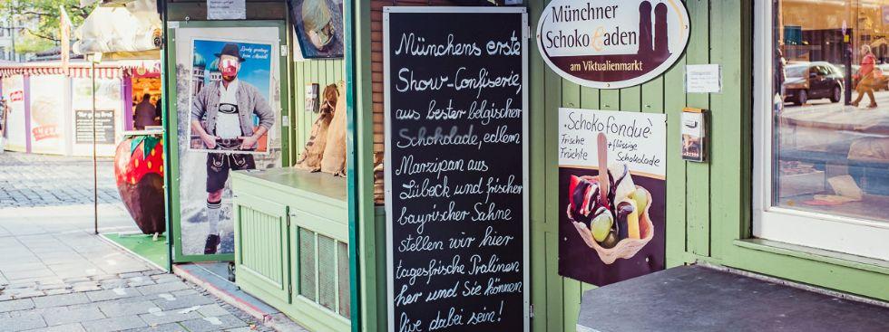 Münchner SchokoLaden: Zuschauen erwünscht!, Foto: Anette Göttlicher