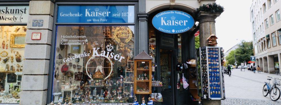 Souvenirladen Kaiser, Foto: Marie-Lyce Plaschka