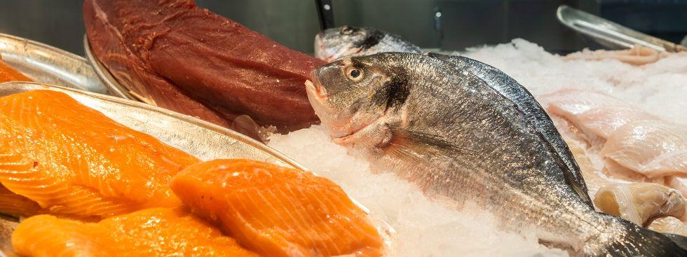 Frischer Fisch am Elisabethmarkt, Foto: Anette Göttlicher