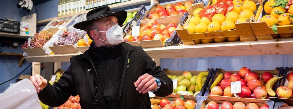 Karl Huczala, einer der Sprecher des Elisabethmarkts, Foto: Anette Göttlicher