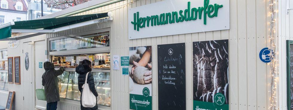 Herrmannsdorfer auf dem Elisabethplatz, Foto: Anette Göttlicher