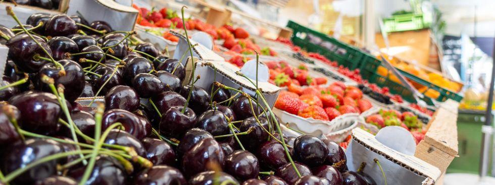 Obst vom Elisabethmarkt, Foto: Anette Göttlicher