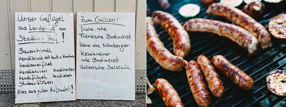 Frisches zum Grillen vom Elisabethmarkt, Foto: Anette Göttlicher, Markus Spiske