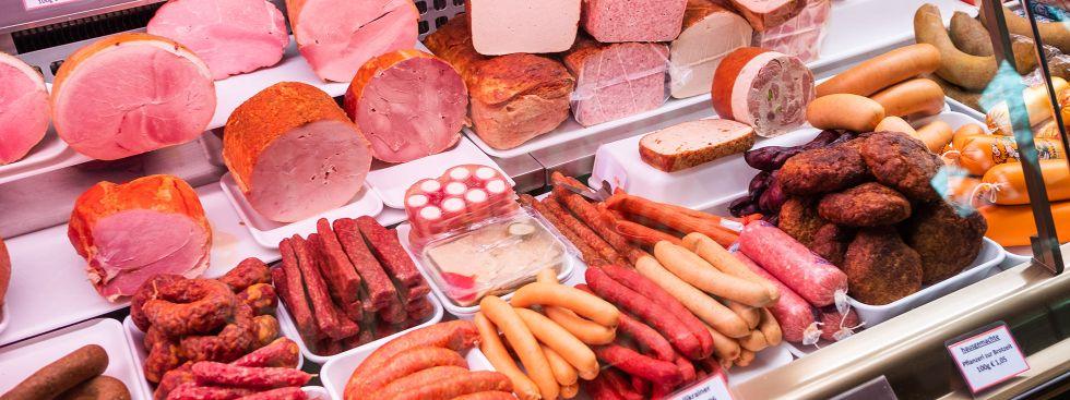 Metzgerei Franz Floß auf dem Pasinger Viktualienmarkt, Foto: Anette Göttlicher