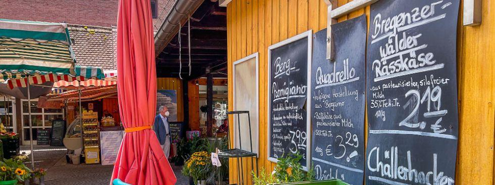 Sommerkäse vom Pasinger Viktualienmarkt, Foto: Anette Göttlicher