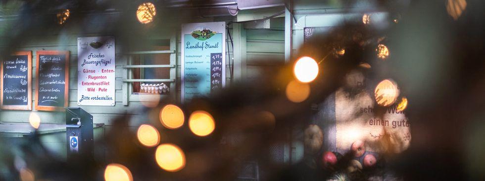 Bestes vom Land auf dem Wienermarkt, Foto: Anette Göttlicher