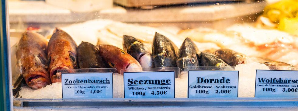 Fisch auf dem Wienermarkt, Foto: Anette Göttlicher