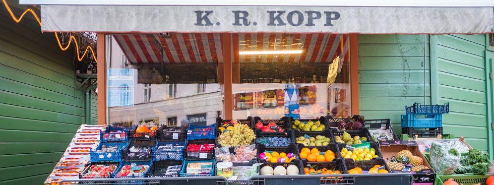 Gemüse & Obst von Konrad Kopp auf dem Wienermarkt, Foto: Anette Göttlicher