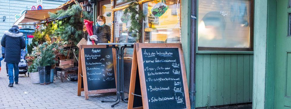 """""""Gutes vom Land"""" auf dem Wienermarkt in Haidhausen, Foto: Anette Göttlicher"""