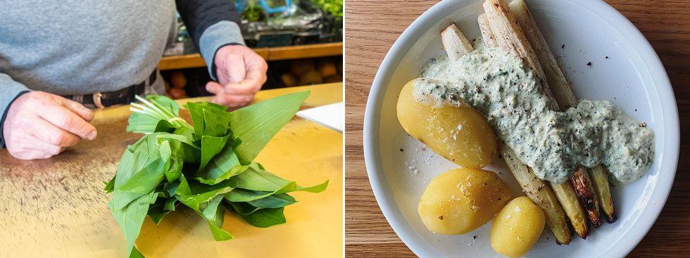 Rezept: Spargel mit Bärlauchsauce, Foto: Anette Göttlicher