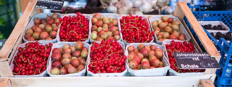 Beeren vom Wienermarkt, Foto: Anette Göttlicher