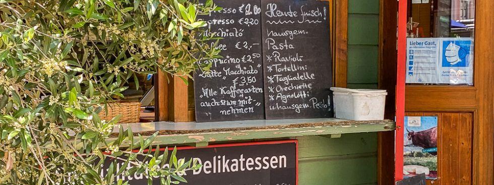 Delikatessen vom Markt am Wiener Platz, Foto: Anette Göttlicher