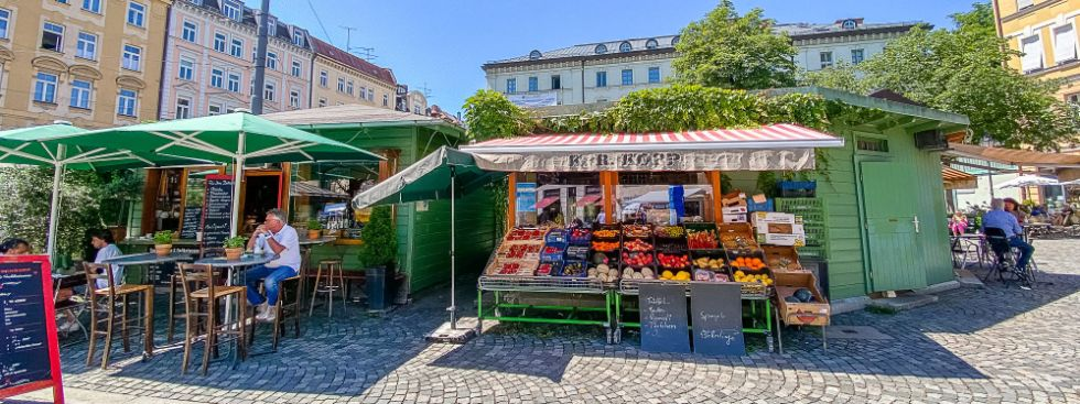 Obst & Gemüse Kopp auf dem Wienermarkt, Foto: Anette Göttlicher