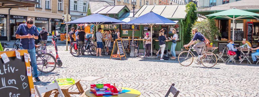 Sommer am Wienermarkt, Foto: Anette Göttlicher