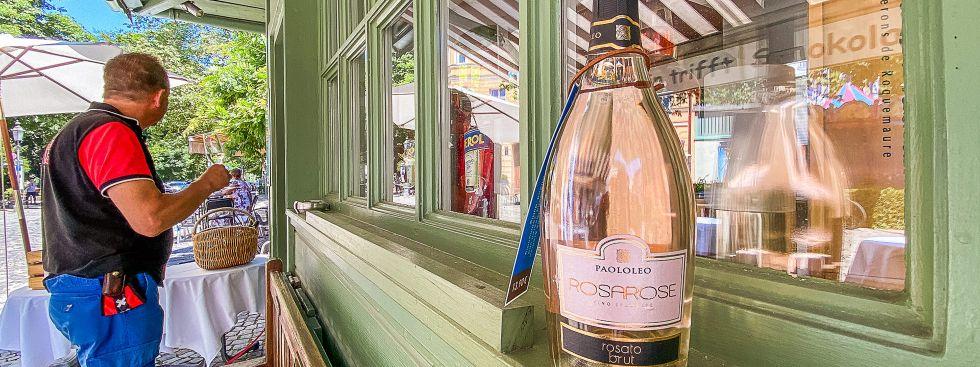 Wein am Wiener Platz, Foto: Anette Göttlicher
