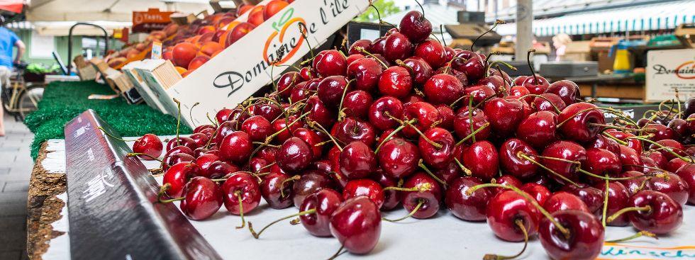 Gesund einkaufen auf dem Viktualienmarkt, Foto: Anette Göttlicher