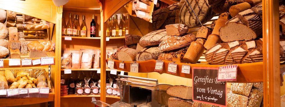 Brot auf dem Viktualienmarkt, Foto: Anette Göttlicher