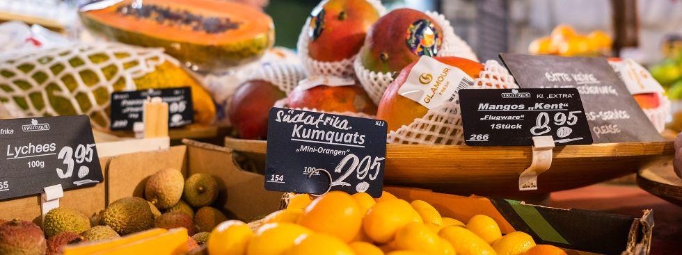 Vitaminreiches Obst vom Viktualienmarkt, Foto: Anette Göttlicher