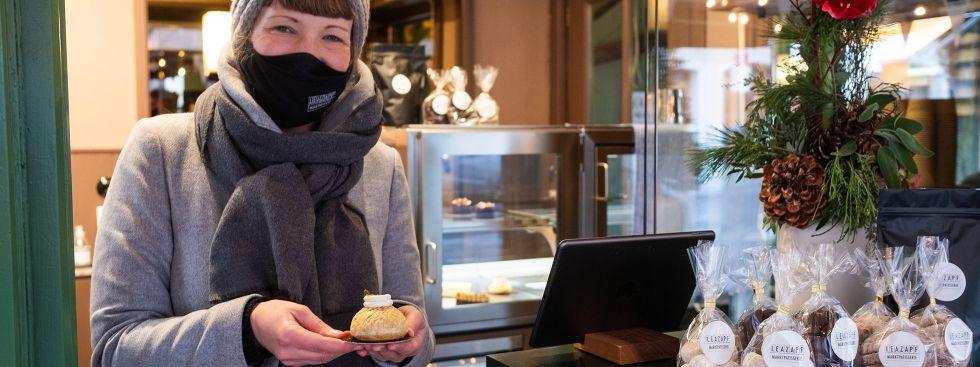 Süßes von der Marktpatisserie Lea Zapf, Foto: Anette Göttlicher