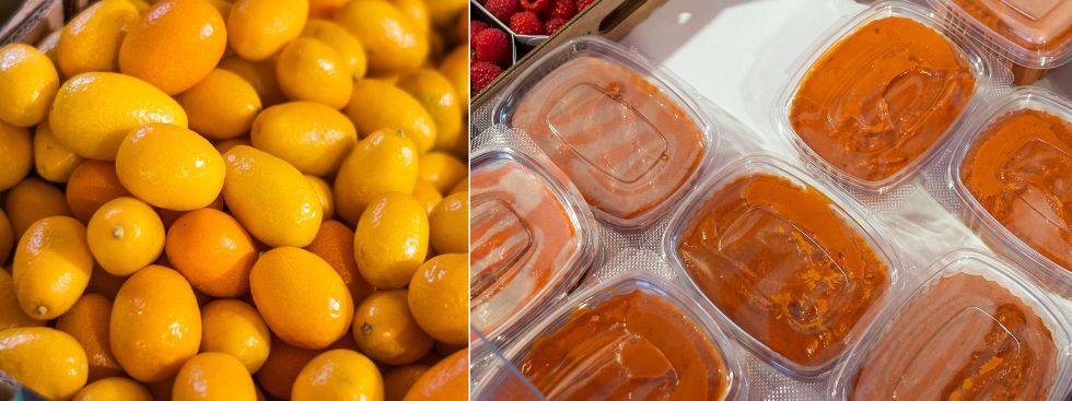 Kumquats und Hagebuttenmark vom Viktualienmarkt, Foto: Anette Göttlicher