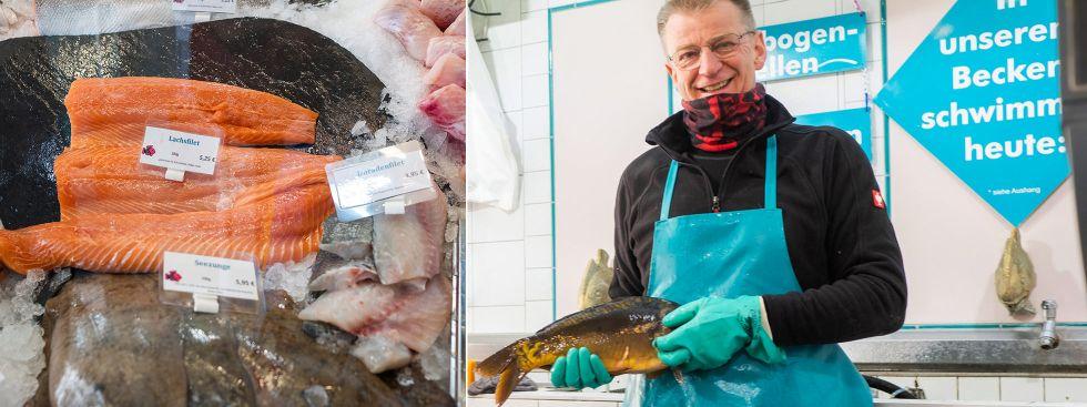 Frischer Fisch von Fisch Maier für Karfreitag, Foto: Anette Göttlicher