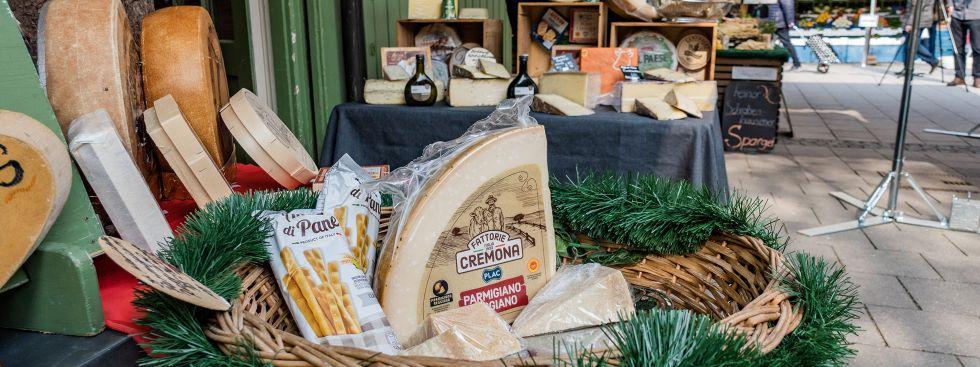 Käse vom Viktualienmarkt, Foto: Anette Göttlicher