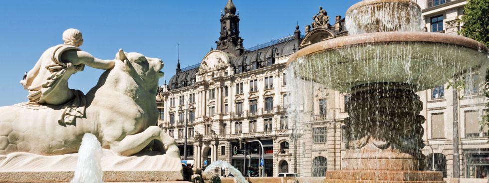 Wittelsbacher Brunnen am Lenbachplatz