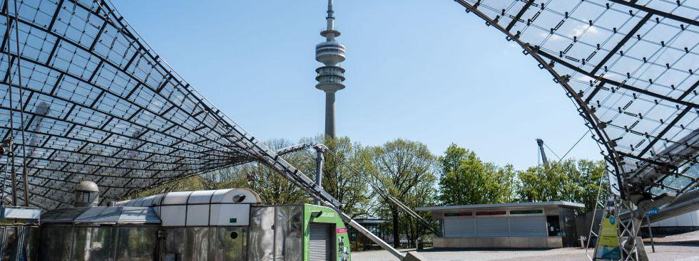 Der Olympiaturm in München