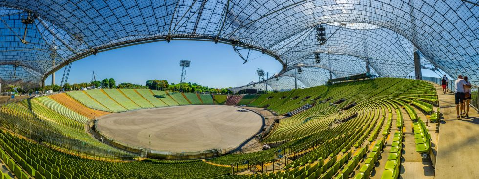 Das Olympiastadion in München