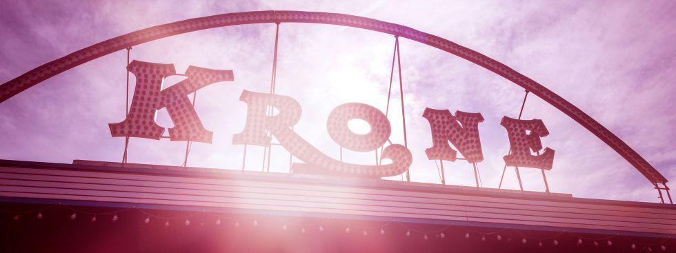 Der Circus Krone von Außen