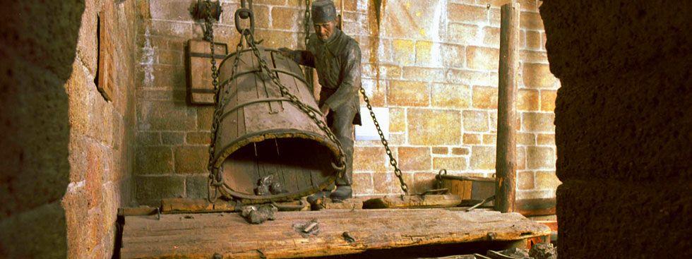 Bergwerks-Anlage im Deutschen Museum, Foto: Deutsches Museum