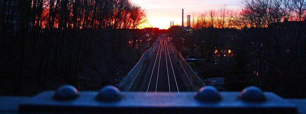 Bahngleise in Giesing, Foto: muenchen.de/Leonie Liebich